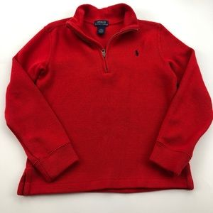 Polo Ralph Lauren Red Pullover Sweater